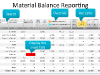 Material Balance Reporting